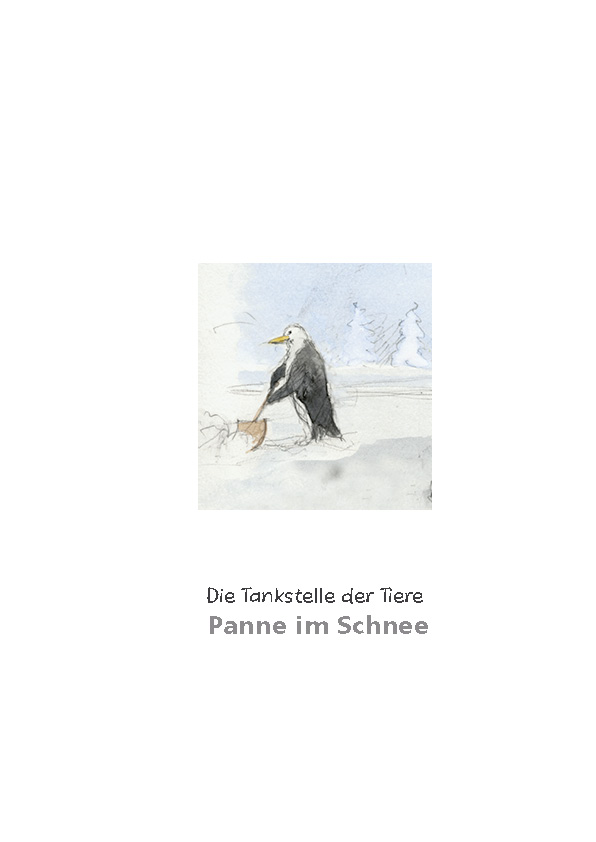 Tankstelle II: Panne im Schnee Titel