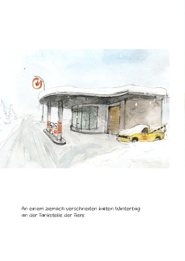 Tankstelle II: Panne im Schnee Seite 2