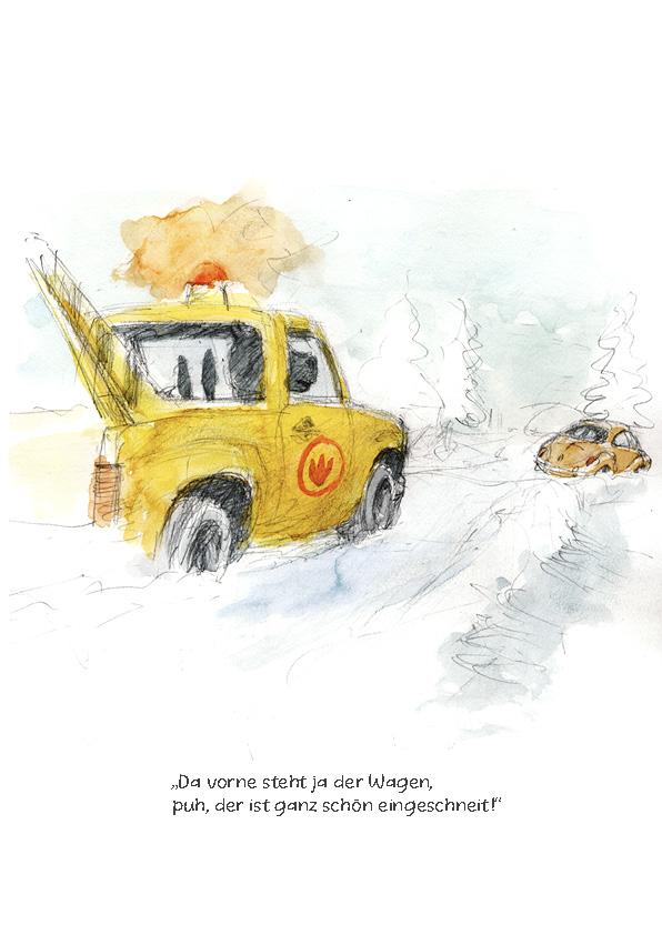 Tankstelle II: Panne im Schnee Seite 5