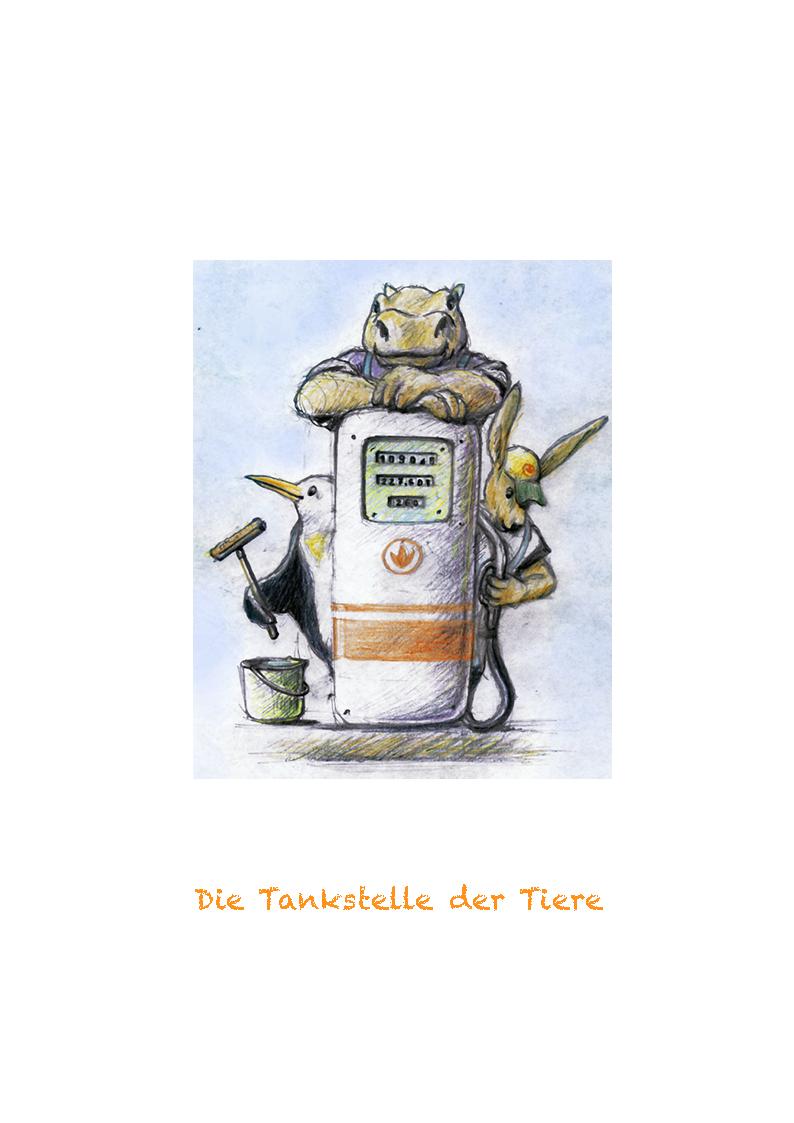Tankstelle der Tiere Titelseite