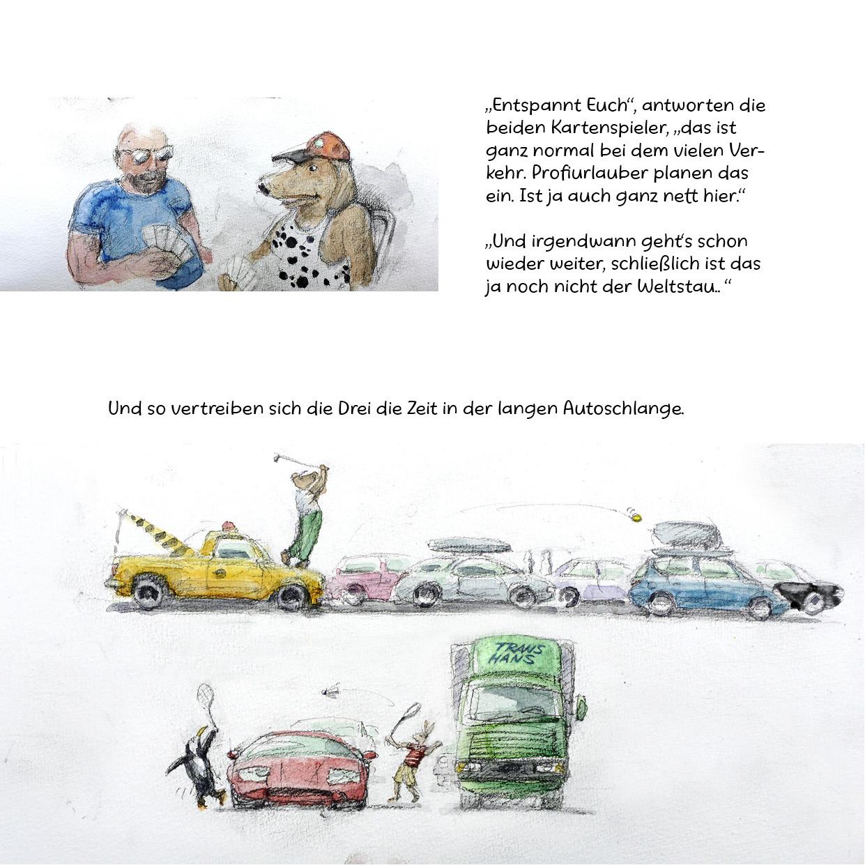 Tankstelle der Tiere III _ Die grosse Reise Seite 17