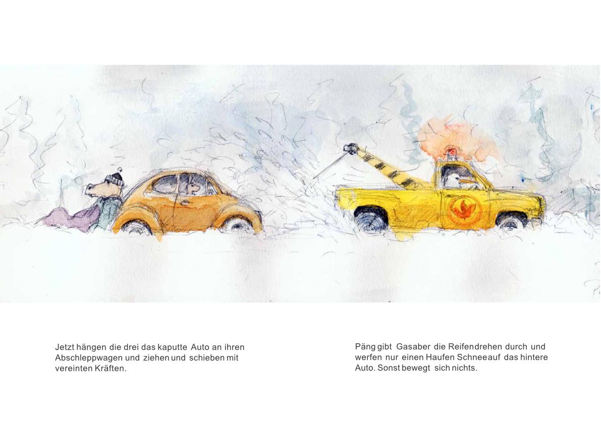 Tankstelle II: Panne im Schnee Seite 10-11