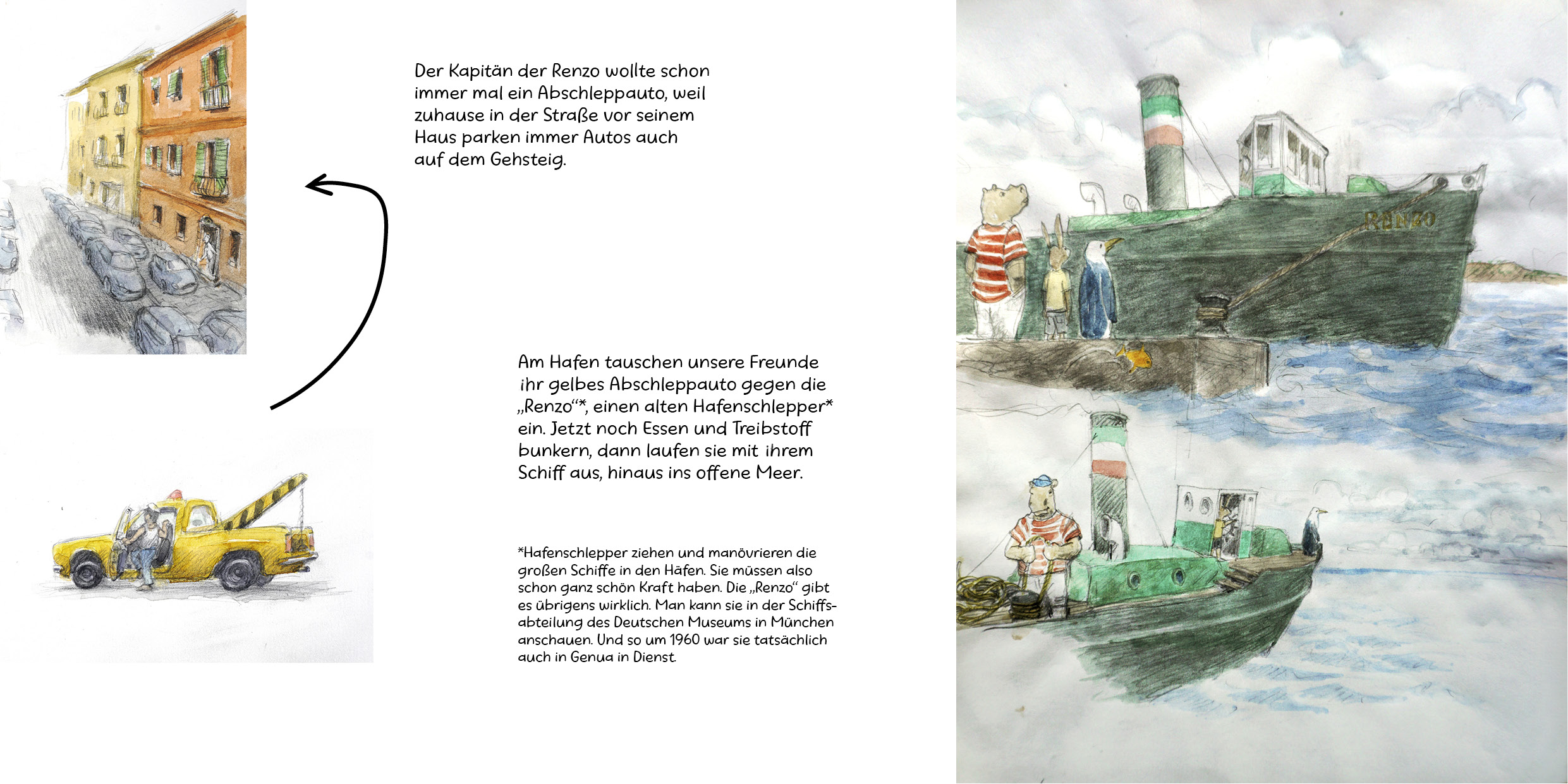Tankstelle der Tiere III _ Die grosse Reise Seite 27-28