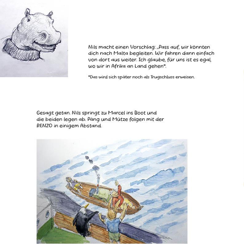 Tankstelle der Tiere III _ Die grosse Reise Seite 39